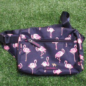 Vera Bradley Lighten Up Belt Bag Flamingo NWT